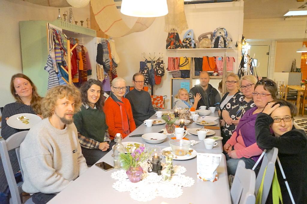cooking workshop participants