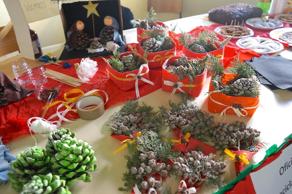 small hand-made Christmas ornament